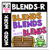 R CONSONANT BLENDS Br, Cr, Dr, Fr, Gr, Pr, Tr Reading Passages, Word Work,