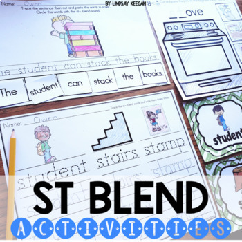Blends: ST Blend Activities