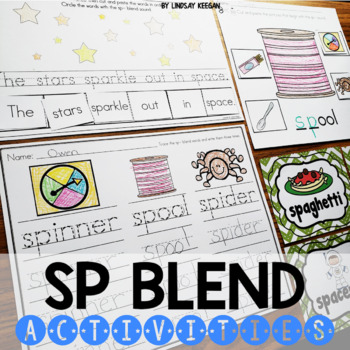 Blends: SP Blend Activities