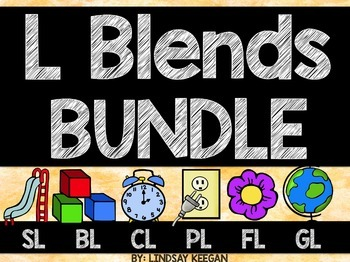 L Blends Activities Bundle