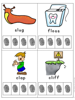 Initial L Blends Phonics and Spelling Practice