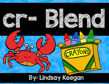 Blends: CR Blend Activities