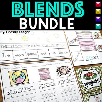 Blends Activities Bundle - R, S and L Blends