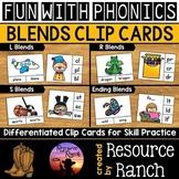 Blends Activity Clip Cards Bundle