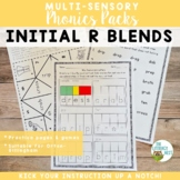 Initial R Blends Orton-Gillingham Multisensory Phonics Activities