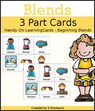 Blends 3 Part Cards