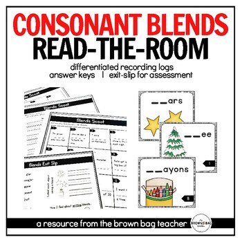 Blends: A Differentiated Read-the-Room