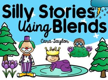 Blends Activities ~ Silly Stories Using Blends
