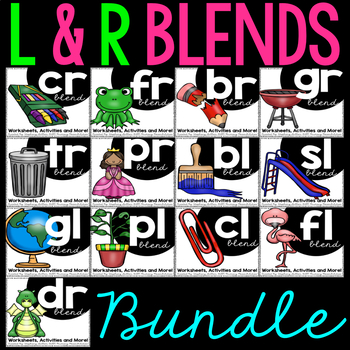 Blends Activities and Worksheets ** BUNDLE **
