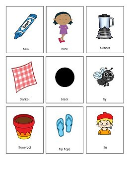 Consonant Blends: Activities to hear, produce, sort and use!