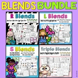 Blends BUNDLE L Blends, R Blends, S Blends, Triple Blends