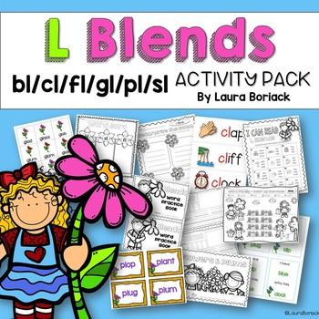 Blends BUNDLE L Blends, R Blends, S Blends, Triple Blends