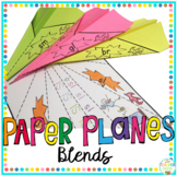 Blends Activity Paper Planes