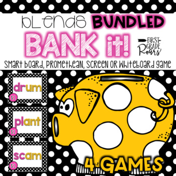 Blends BUNDLE with 4 Bank It Projectable Games