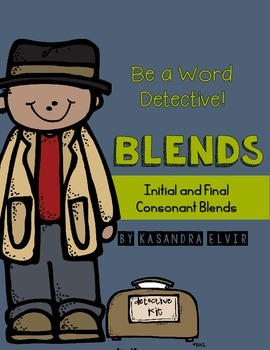 Word Detective Initial & Final Consonant Blends