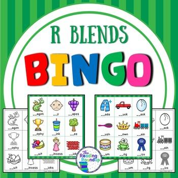 Blends Bingo - R Blends