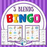 Blends Bingo Game (S Blends)
