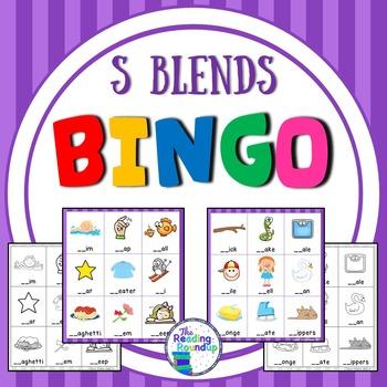 Blends Bingo - S Blends