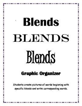 Blends Blends Blends - Literacy Center