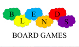 Blends Board Games - Literacy support reading activity