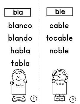Blends Booklet for Beginning Readers