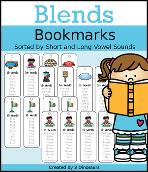 Blends Bookmarks: 2 Versions