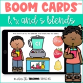 Blends Boom Cards™ - L, R, S Blends | Distance Learning Resource