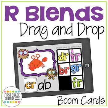 Blends Boom Cards Drag and Drop Bundle