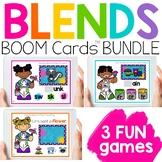 Blends Boom Digital Task Cards BUNDLE   Distance Learning