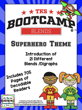 Blends Bootcamp:  Superhero Theme