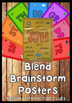 Blends Brainstorm Poster