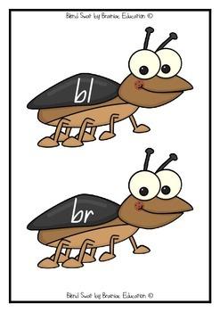 Blends Bugs Swatting Game - Set of 28