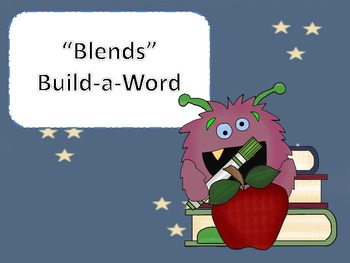 """Blends"" Build-a-Word"