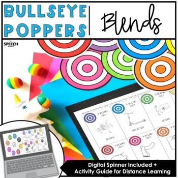 Blends: Bullseye Popper Speech Therapy