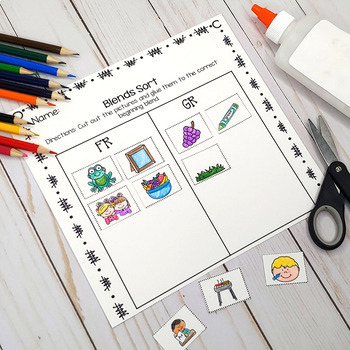 Blends Bundle: Activities and Printables for Beginning Blends