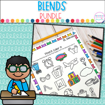 Blends Bundle: Activities and Printables for Beginning Blends