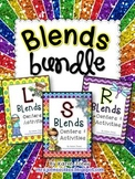 Blends Bundle: Centers & Activities for L, R, and S Blends