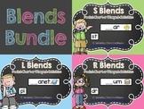 Blends Bundle {Pocket Chart or Magnetic Letter Activities}