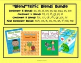 Blends Bundle: Word Work Literacy Stations (S, L, R & Final Consonant Blends)