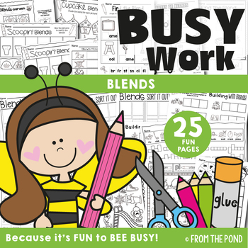 Blends Busy Work