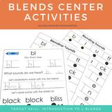 Blends Center Activities - L Blends