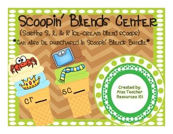 Blends Center - Sorting Blend Pictures to Beginning Blend Letters