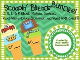 Blends Centers BUNDLE Sorting, Word Wall Picture Cards, & Read Write Draw Room