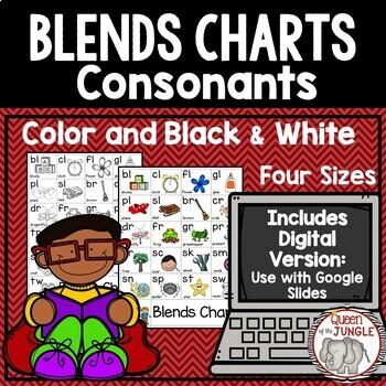 Blends Chart and Activities