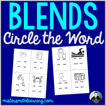 Blends Circle the Word
