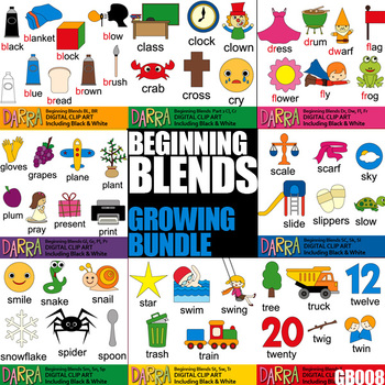 Blends Clip Art