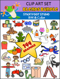 Blends Clip Art Bundle (Sticky Foot Studio)