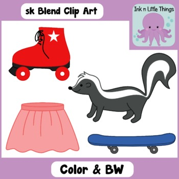 Blends Clip Art: sk Blend clipart
