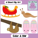 Blends Clip Art: sl Blend clipart