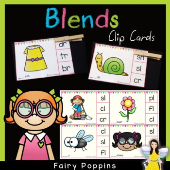 Blends Clip Cards